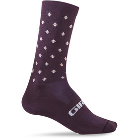 Giro Comp High Rise Socks Unisex dusty purple/crossfade